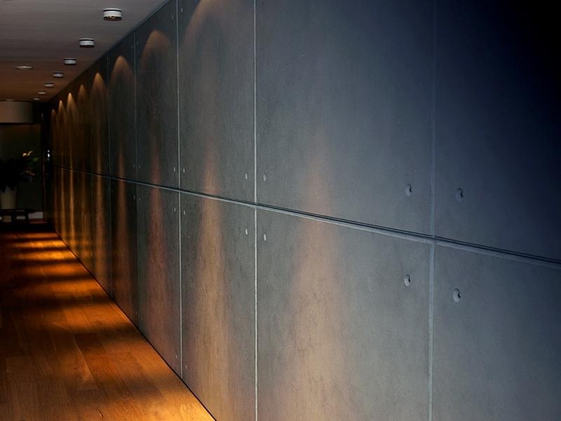 Betonowe płyty dekoracyjne,